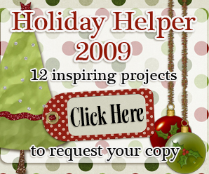 Holiday Helper button