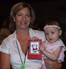 Babyholdingcard